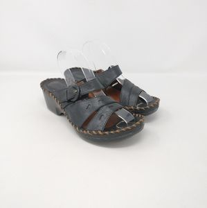 Ariat Slip On Comfort Leather Strappy Clogs Wmns 8